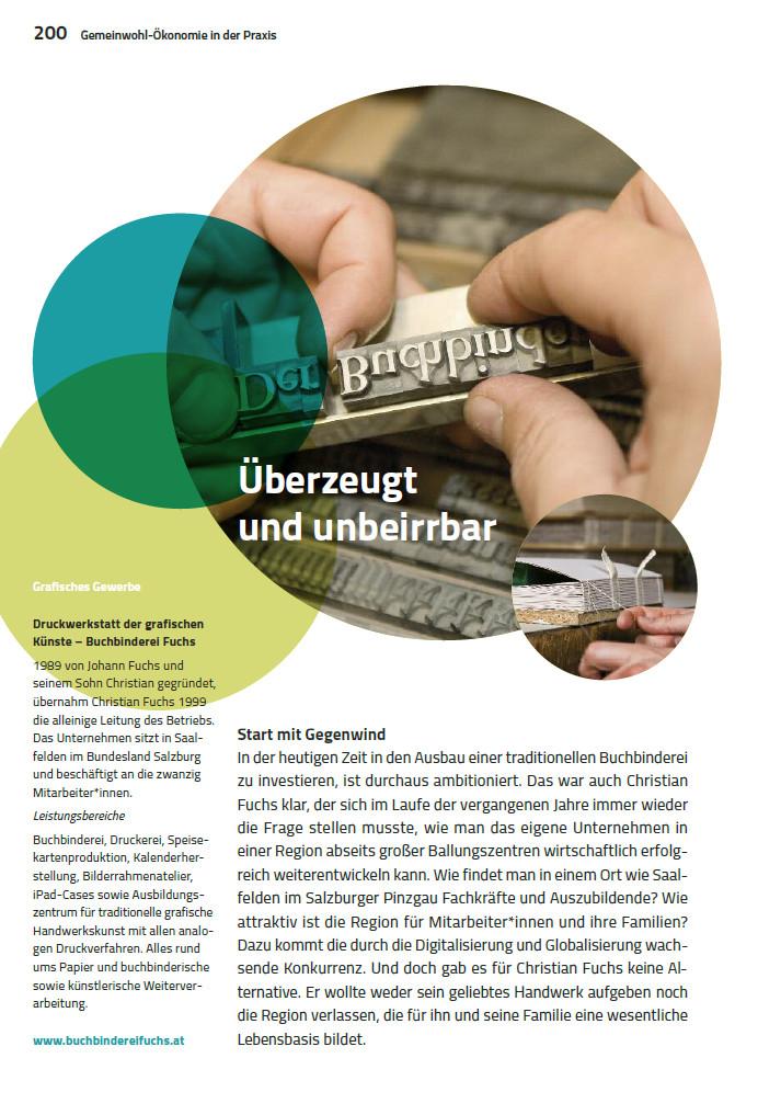Leseprobe: Buchbinderei Fuchs