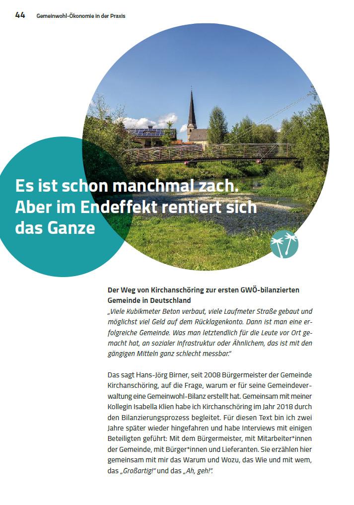 Leseprobe: Gemeinde Kirchanschöring