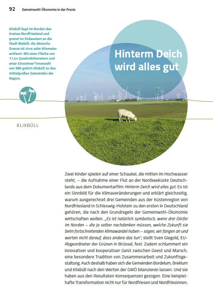 Leseprobe: Gemeinden Bordelum, Breklum und Klixbüll